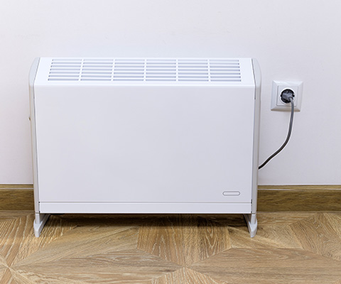 Remote control of heating and air conditioning
